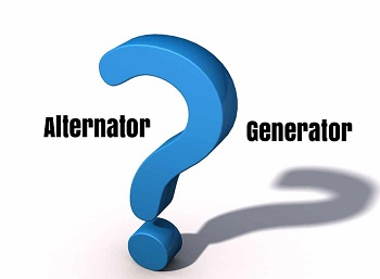 Difference Between an Alternator and a Generator
